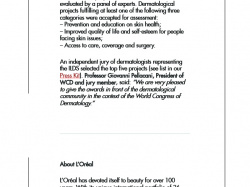 International awards for social responsibility in dermatology